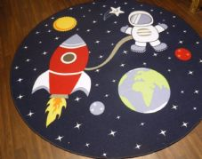 NEW 200CMX200CM SPACE RUGS/MATS HOME/SCHOOL EDUCATIONAL NON SILP BEST SELLER